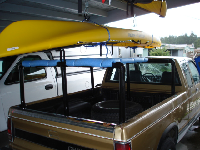 Homemade Truck Rack For Kayak Cosmecol
