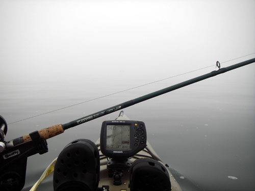 how to use a kayak downrigger